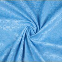 Ткань скатерная Журавинка ш 150 (голубой (250805) жаккард (1760), м)