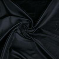 Ткань подкладочная 190Т ш 150 (черный, м)
