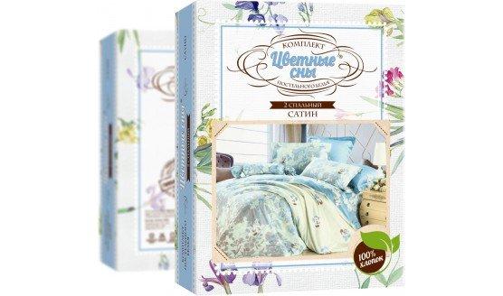 Комплект постельного белья из сатина Цветные сны