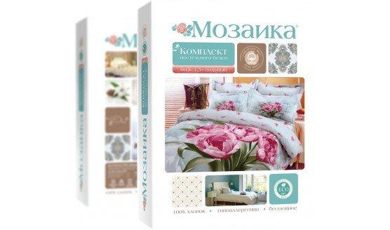 Комплект постельного белья из бязи Мозаика